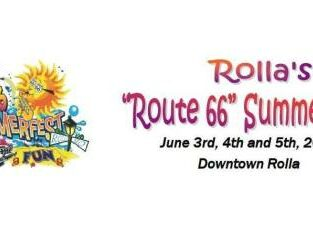 Rolla's Route 66 Sumerfest poster